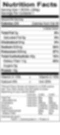 Benje's Naturals Vegetarian Chili nutritional info