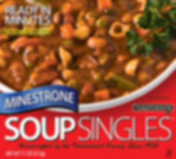 Minestrone Soup Singles box