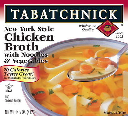 Tabatchnick_Chicken broth noodles and ve