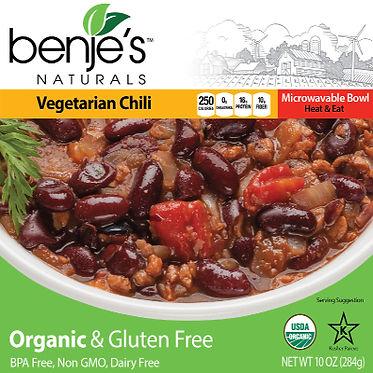 Benje's Naturals Vegetarian Chili box