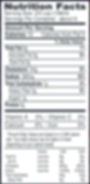 Chicken Broth Organic nutritional info