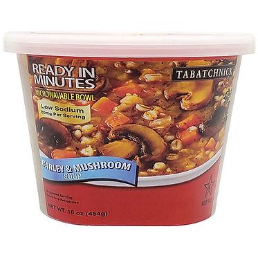 Fresh Soups - Barley and Mushroom