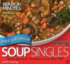 Barley & Mushroom Soup singles box
