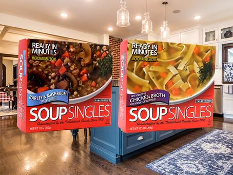Soup Singles Save Time