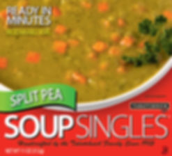 Split Pea Soup Singles box