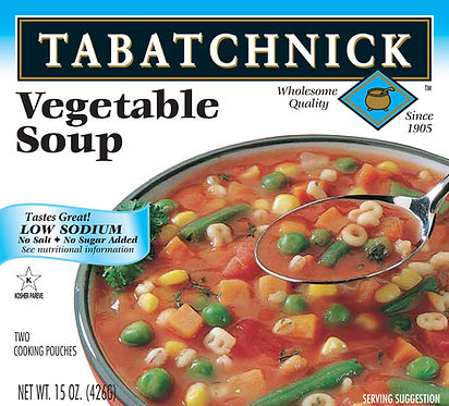 Tabatchnick_Vegetable Soup - Low Sodium-