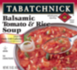 Balsamic Tomato and Rice Soup box