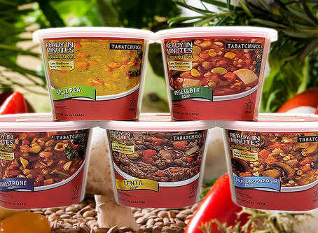 Announcing Refrigerated, FRESH SOUPS!