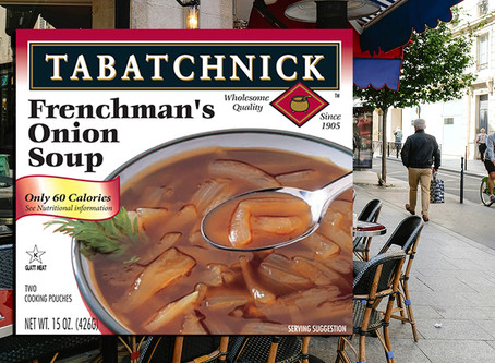 Transport Yourself with Frenchman's Onion Soup