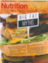 Nutrition Action Magazine front page