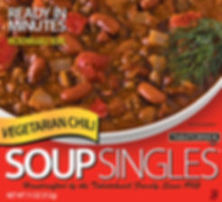 Vegetarian Chili Soup Singles