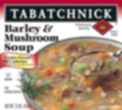 Barley and Mushroom soup box