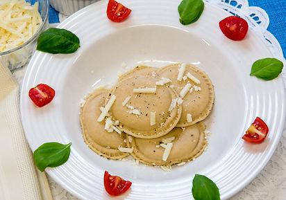 whole grain ravioli