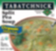 Tabatchnick Fine Foods Organic Split Pea soup box
