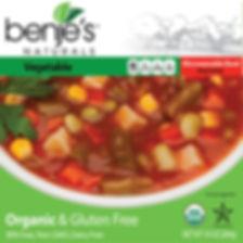 Benje's Naturals Vegetable Soup box