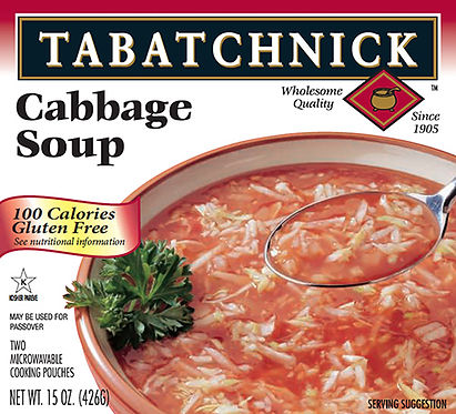 Box of Tabatchnick Kosher for Passover Cabbage Soup
