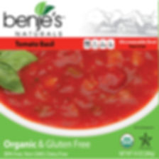 Benje's Naturals Tomato Basil Soup Box