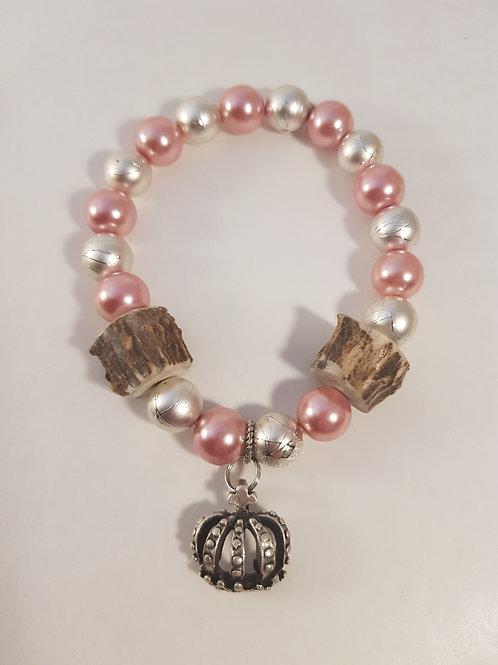 PRINCESS Trachtenarmband pink