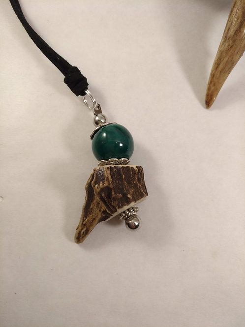 NATURE Halskette Reh mit Keramikperle