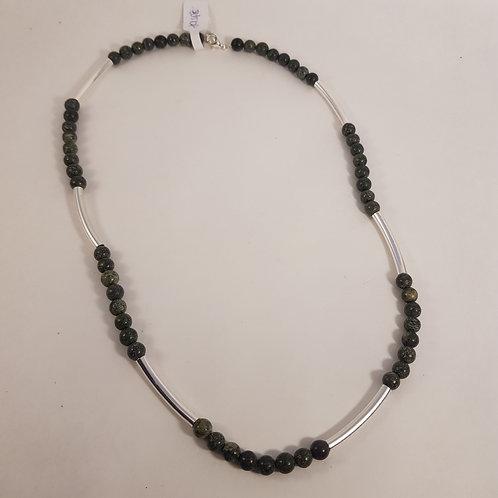 Jaspis Perlenhalskette