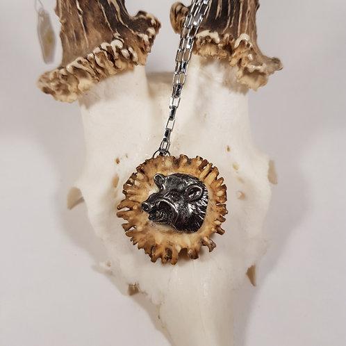 Halskette Wildsau