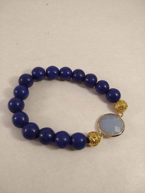 BLUE Perlenarmband