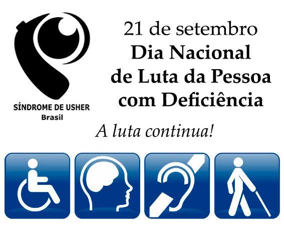 Dia Nacional da Luta da pessoa com deficência