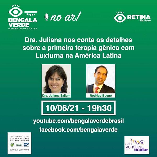 Live com dra Juliana Sallum