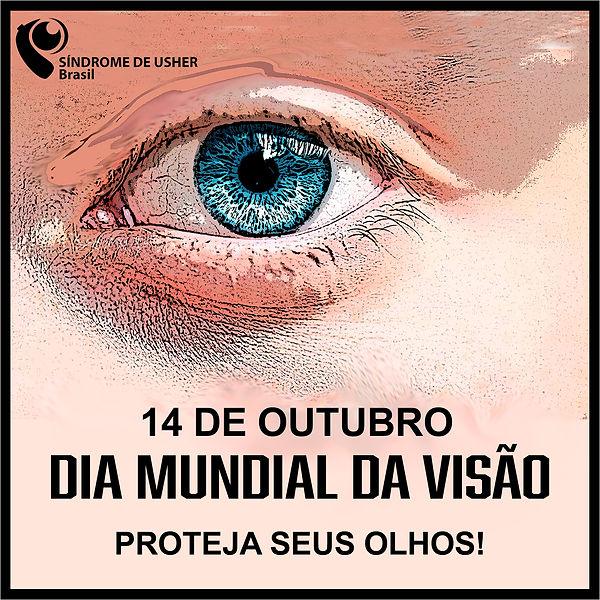Dia Mundial da Visão - Síndrome de Usher Brasil