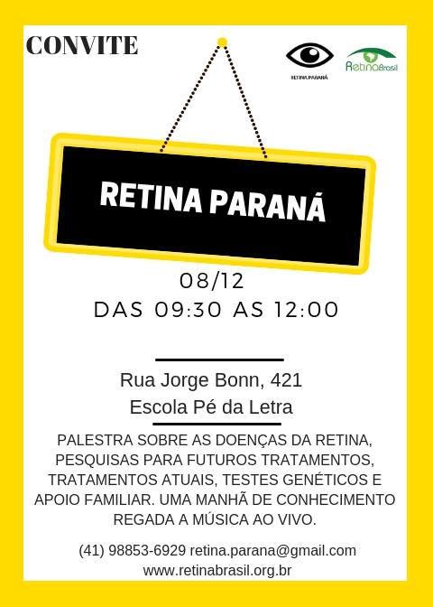 Convite Retina Paraná