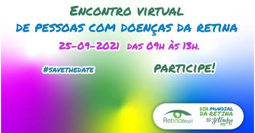 Dia Mundial da Retina 2021 - Retina Brasil