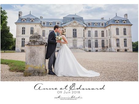Le mariage d'Anne et Edouard