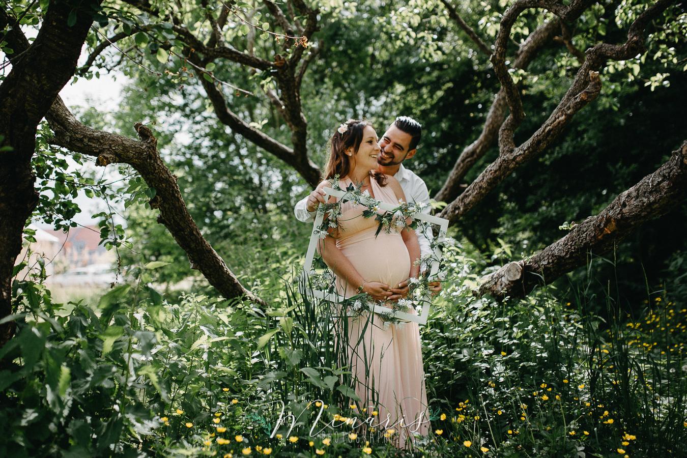 Photographie de grossesse extérieur