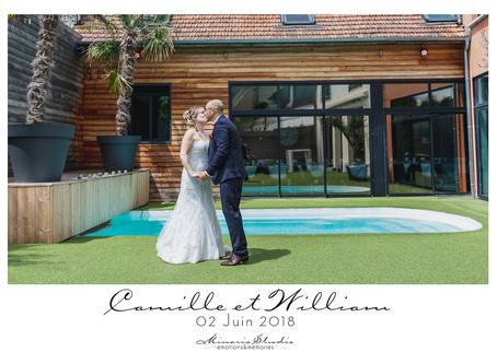 Le mariage de Camille et William