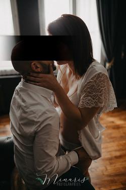 Photographie intimiste de couple