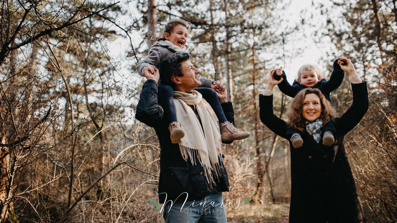 Séance famille extérieur