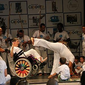 Capoeira adaptée Batizado
