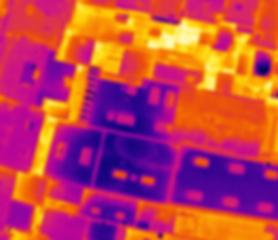 Thermographie par dron