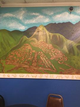 Machu Picchu Mural, Joses Taqueria Ta