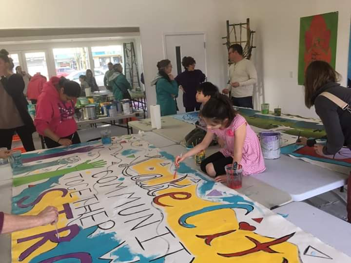 Seattle Parks Community Mural Event
