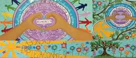 Briarcrest Elementary Coloring Book Mural Series Phase 1