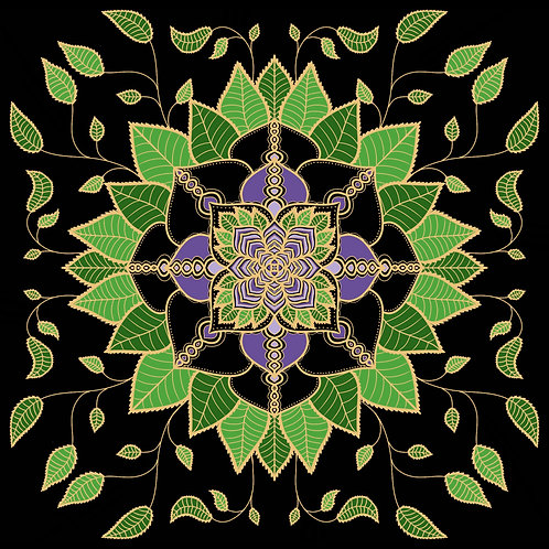Plant Life Mandala