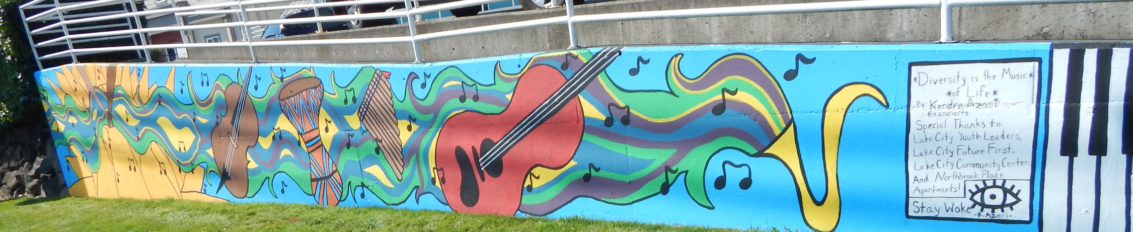 Northbrook Place Apartments Youth Mural