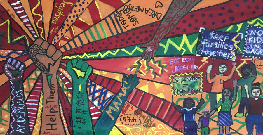 """Nathan Hale """"Unity in Community Mural"""