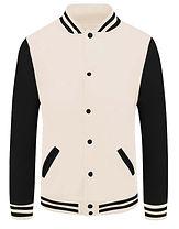 baseball jacket_02_Black sleeve Beige bo