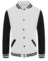 baseball jacket_02_Black sleeve white bo