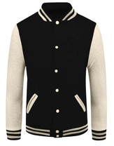 baseball jacket_02_Beige sleeve Black bo