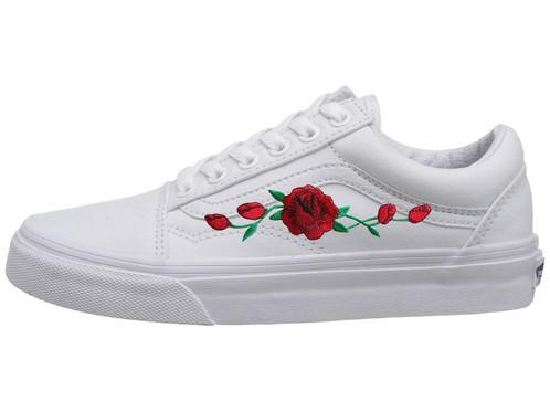 vans a rose