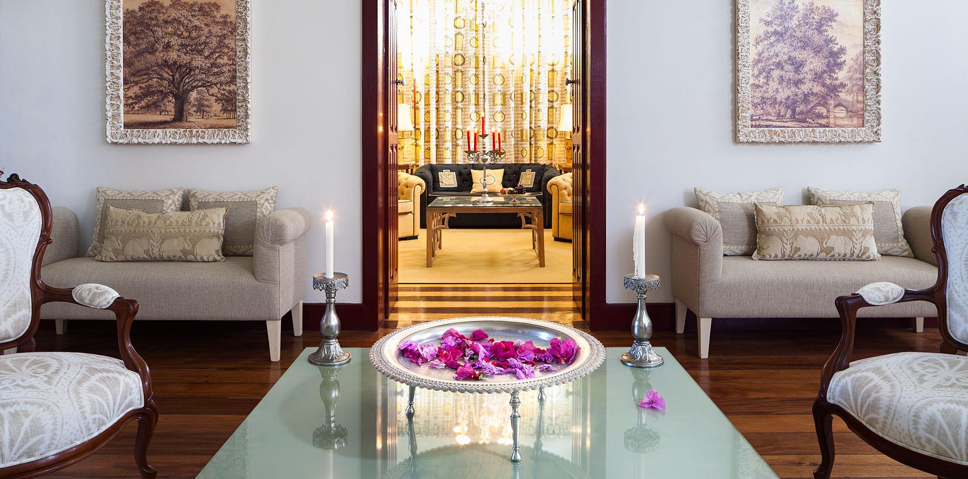 Casa de Santo Antônio - Entrance room an