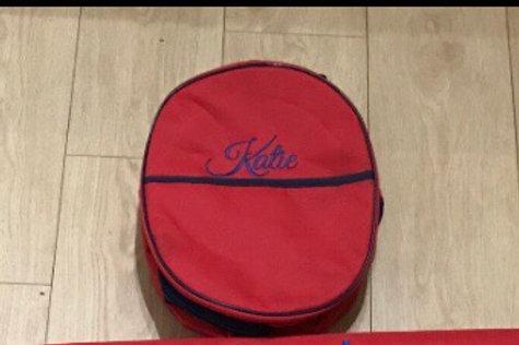 Personalised hat bag